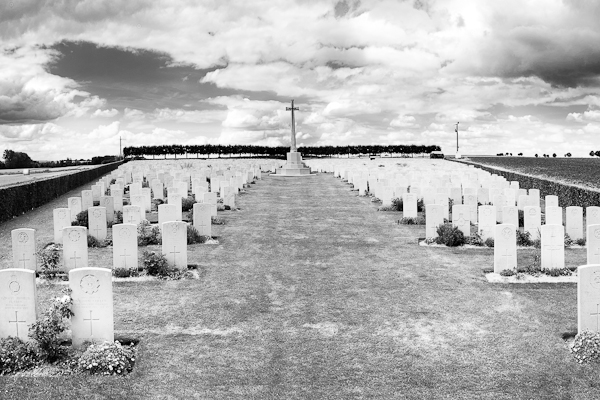 Military Cemetery North of France