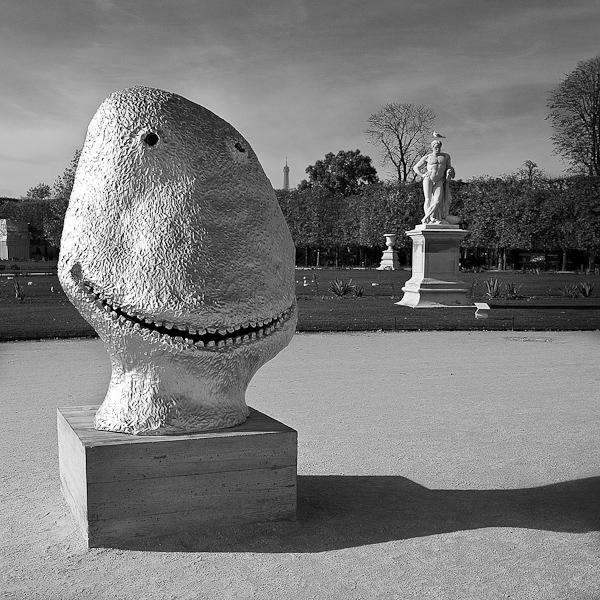 Tuileries, Souriez , Smile