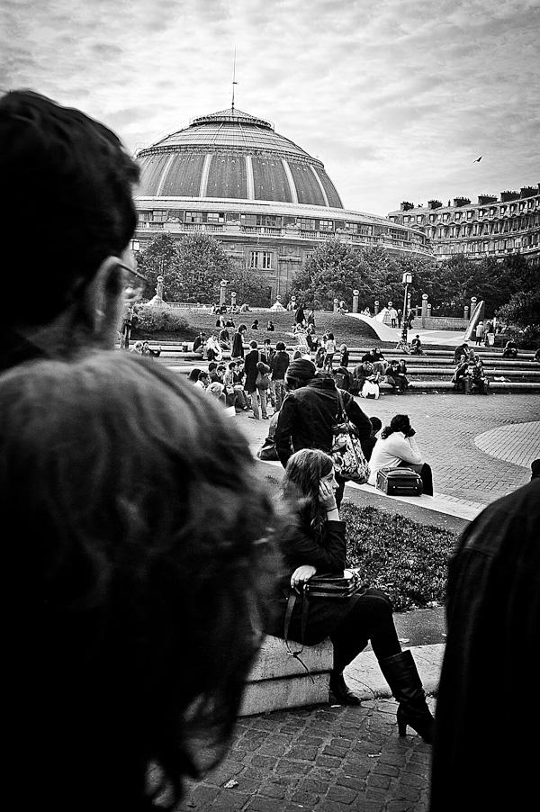 Waiting Les Halles Paris