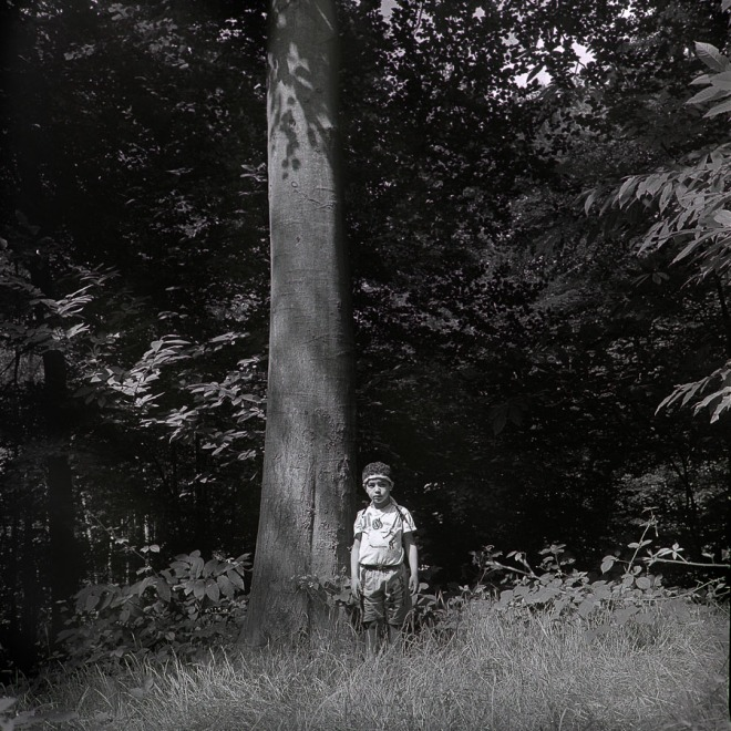 W, a Boy in the Woods:a Portrait.