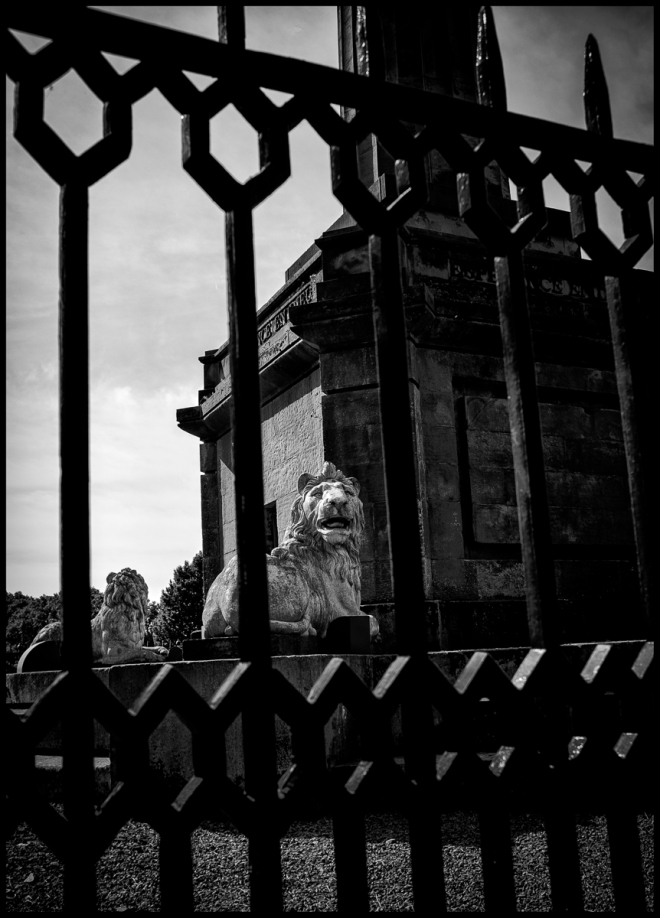 lion of alnwick tenantry monument