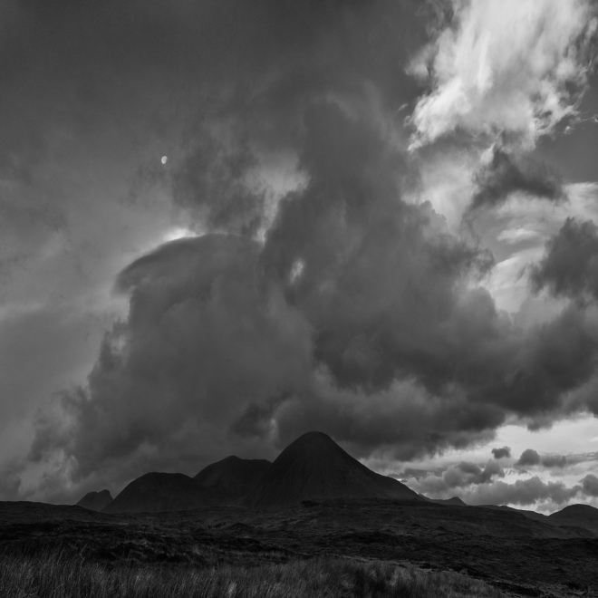 Moon Over Skye