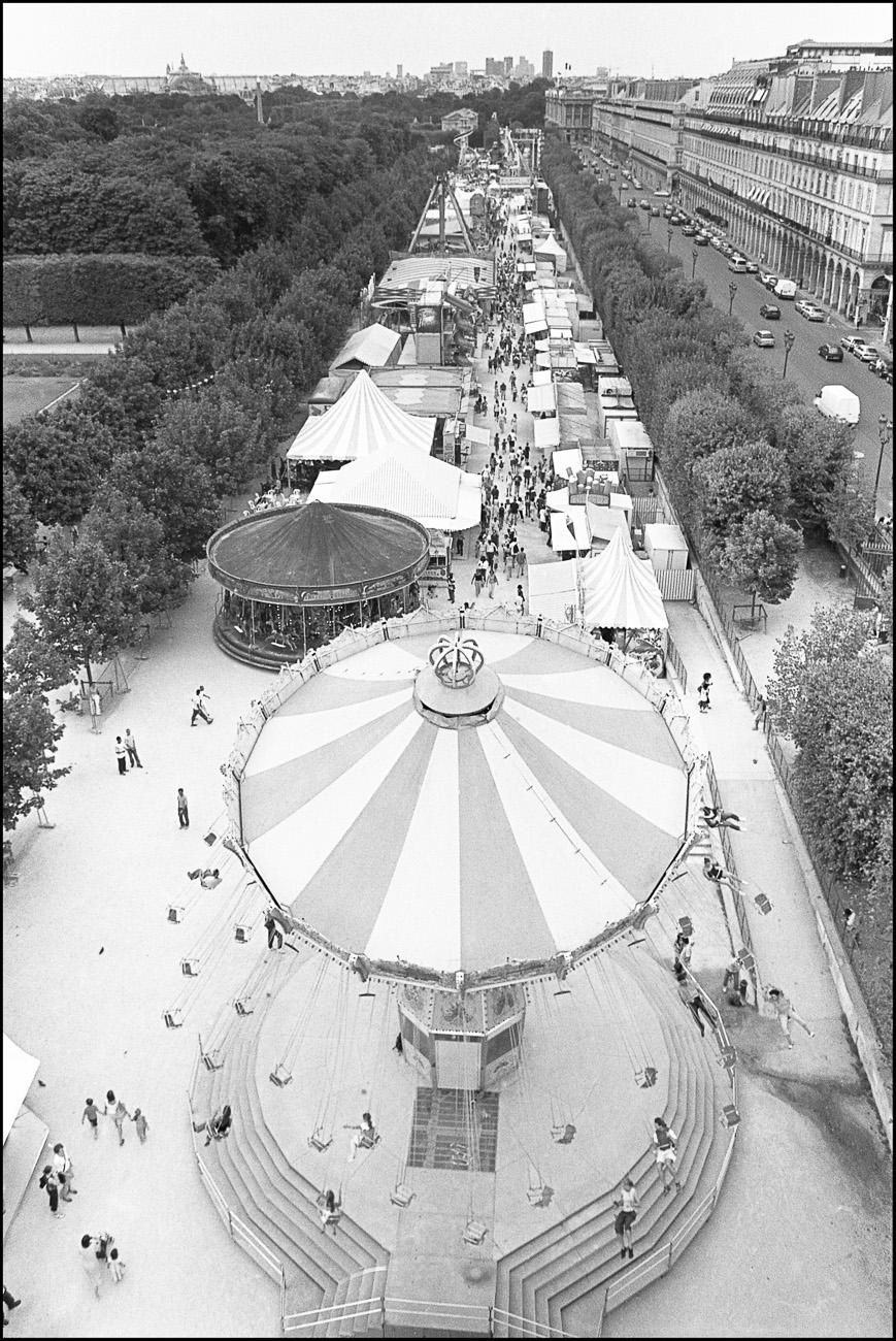 Street photography chevaugeon photographer - Jardin des tuileries fete foraine ...